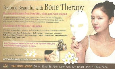 Become Beautiful with Bone Therapy