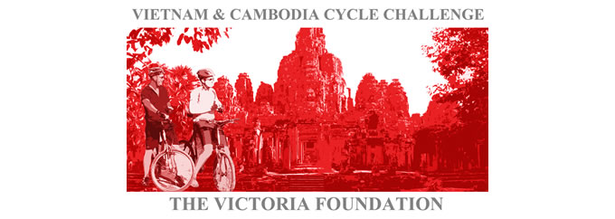 Vietnam to Cambodia Cycle Challenge 2012