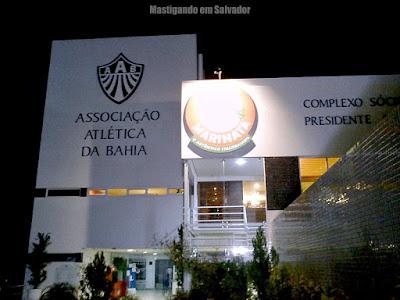 Restaurante Marinata: Fachada da loja da Barra (Associação Atlética da Bahia)
