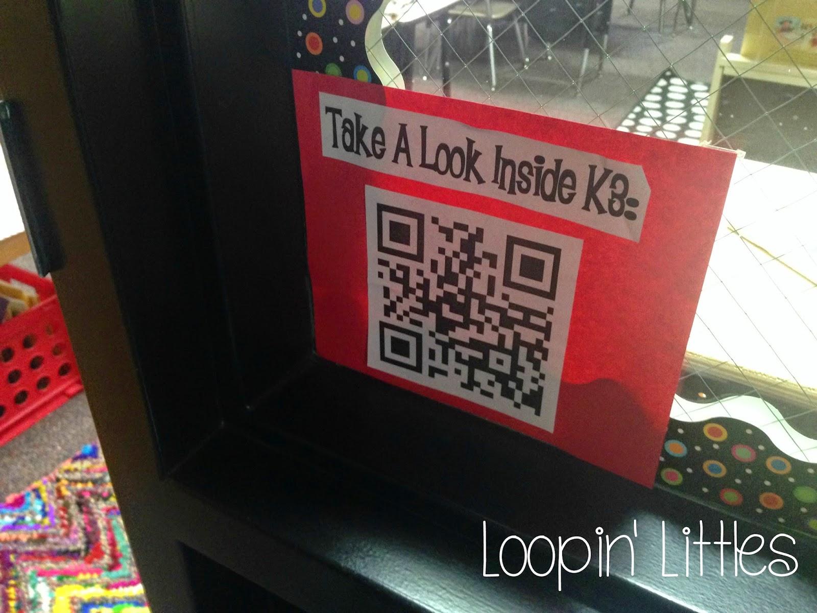 Loopin Littles QR Code Listening Center