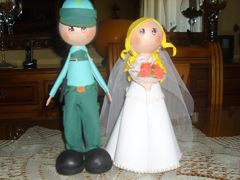 GUARDIA CIVIL  Y NOVIA