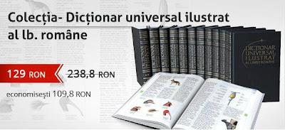 reducere colectia Dictionar universal al lb romane