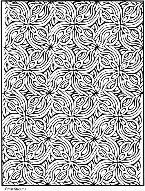 Free Mosaic Coloring Pages For