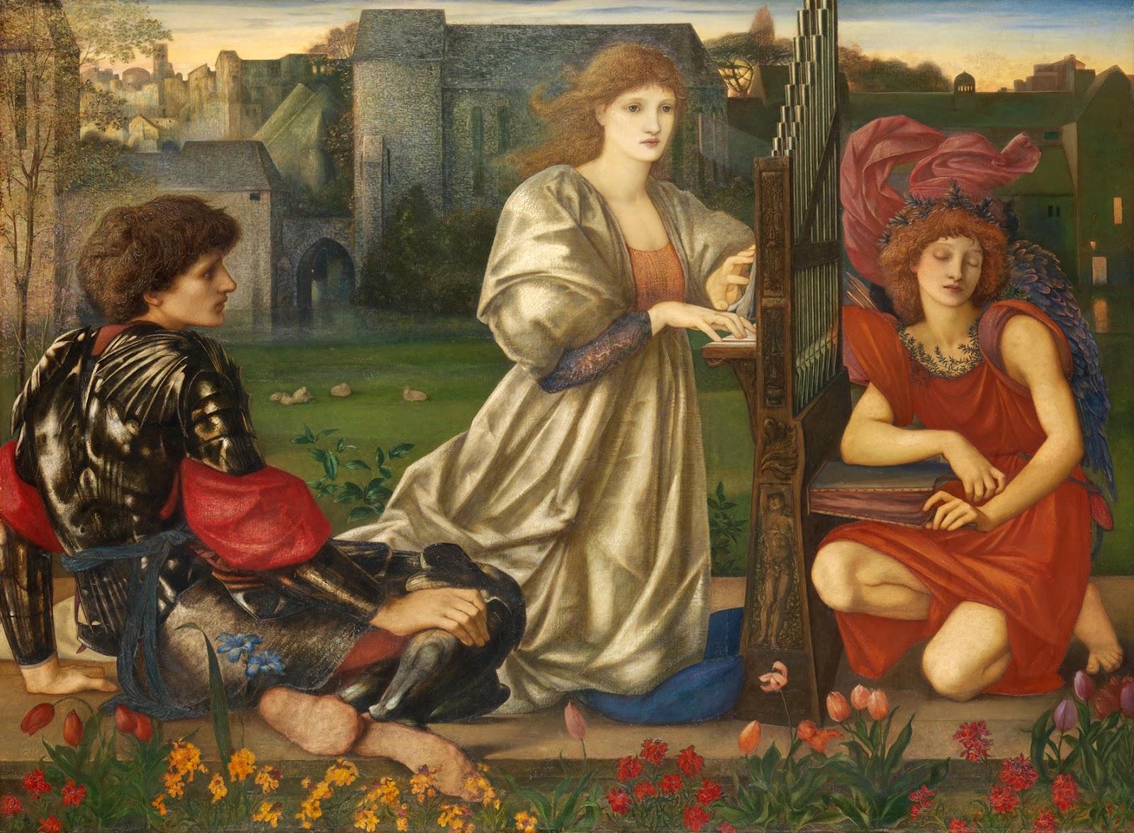 victorian british painting  sir edward coley burne