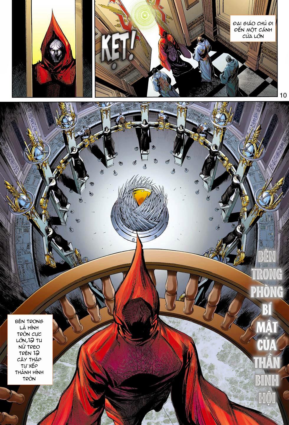 Thần Binh 4 chap 26 - Trang 11