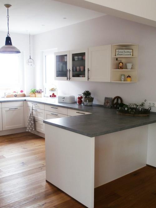 Küche Einblick Deko Wohnen