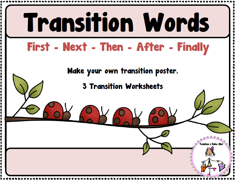 ... Word Poster and 3 worksheets to use with writing or story sequencing