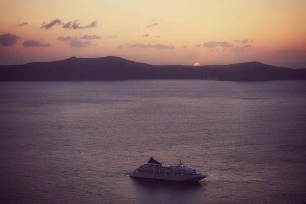 Puesta de sol Santorini