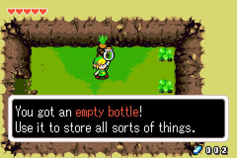 minish cap how to get to beanstalk lake hylia