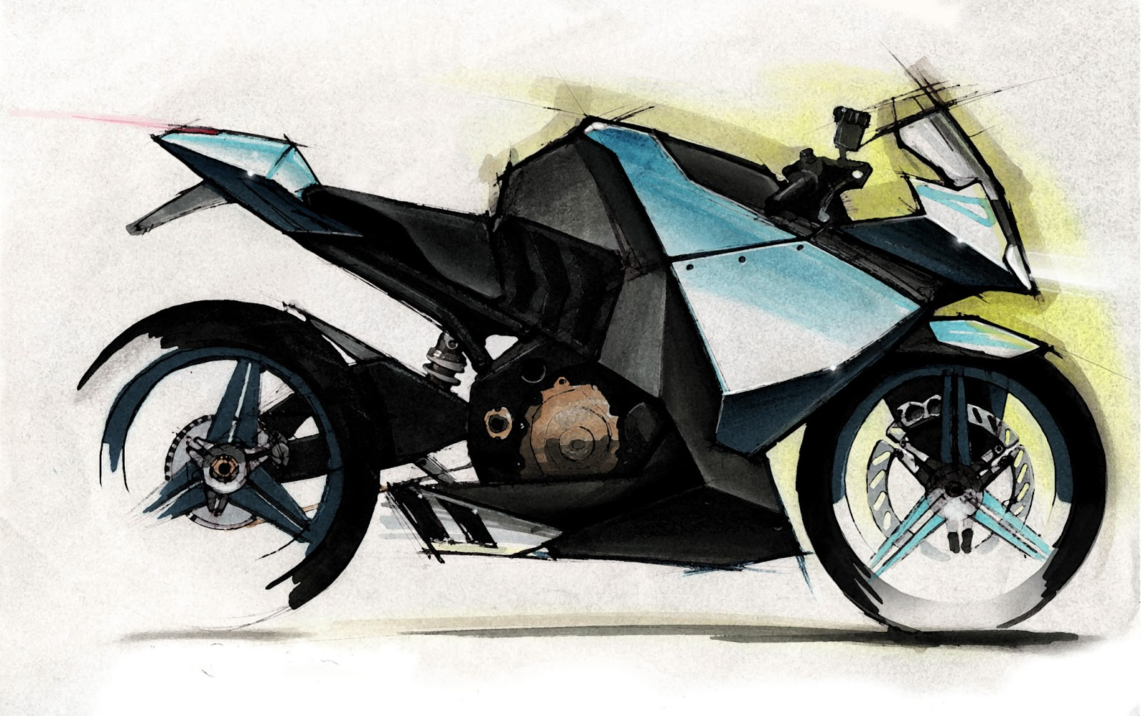 design bike concept motorbike motorcycle