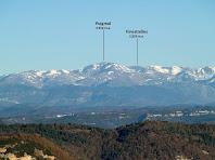 El Puigmal des del Mirador del Pirineu