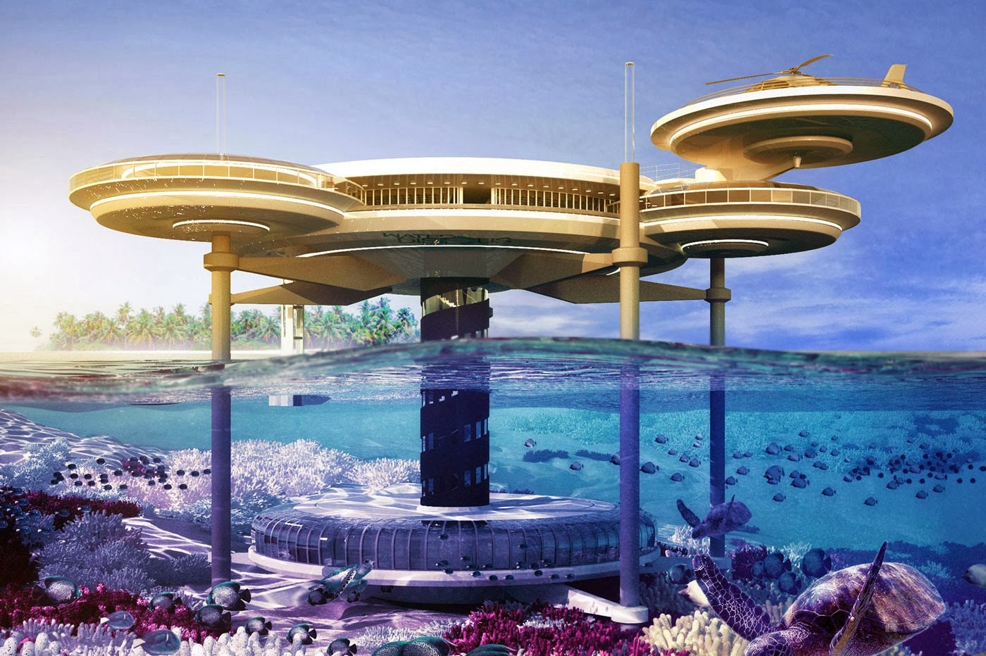 Travel trip journey hydropolis underwater hotel dubai for Nicest hotel in the world dubai