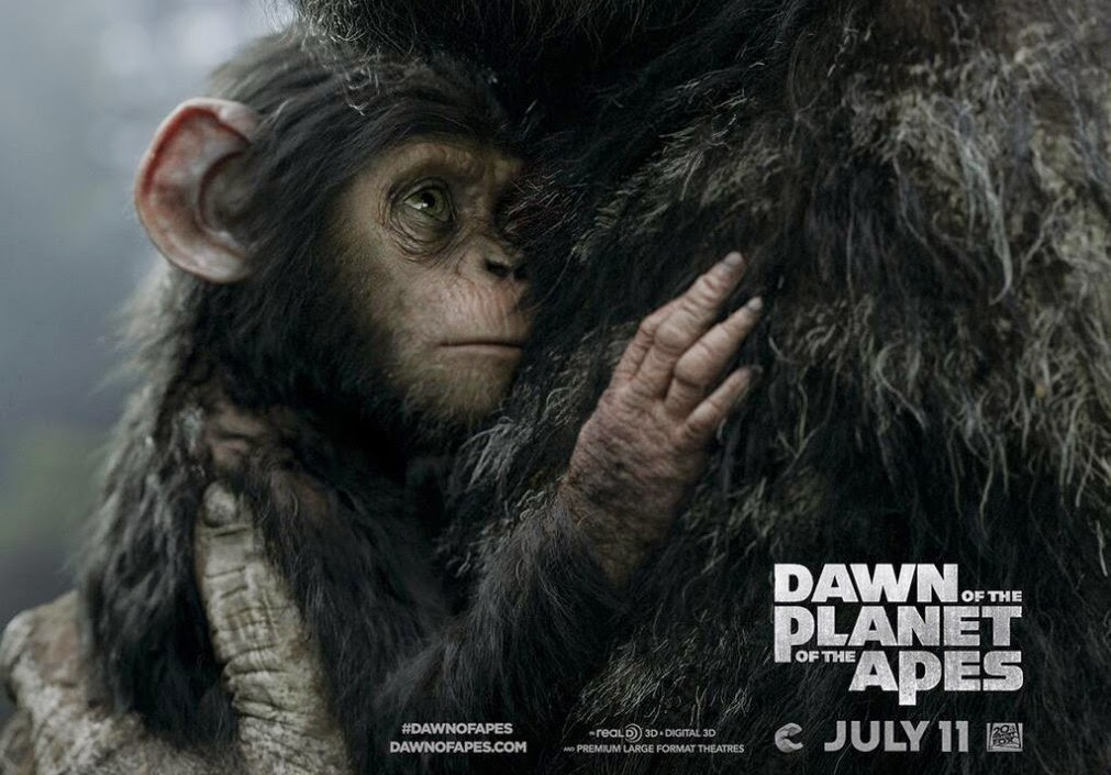 Dawn of the Planet of the Apes: New Trailer & Poster