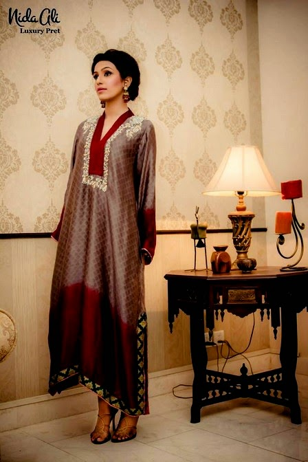 Luxury Pret by Nida Ali
