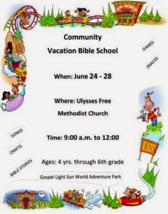 6-24 Vacation Bible School