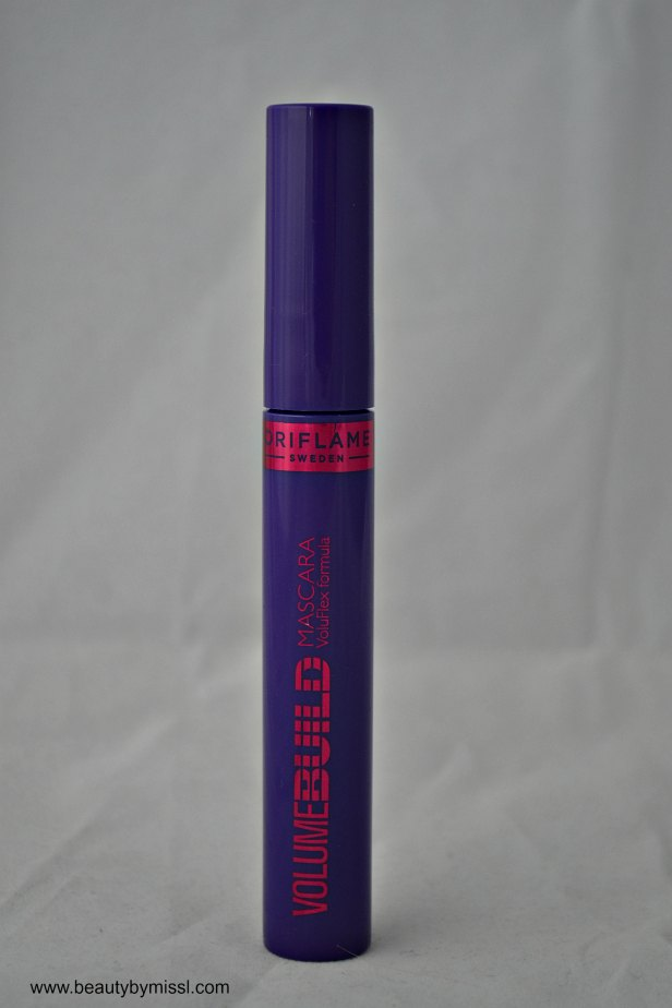 Oriflame Volume Build Mascara review and swatches