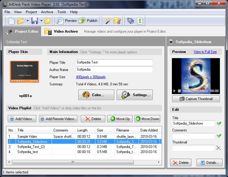 A4Desk Flash Video Player 2.90 A4Desk-Flash-Video-P