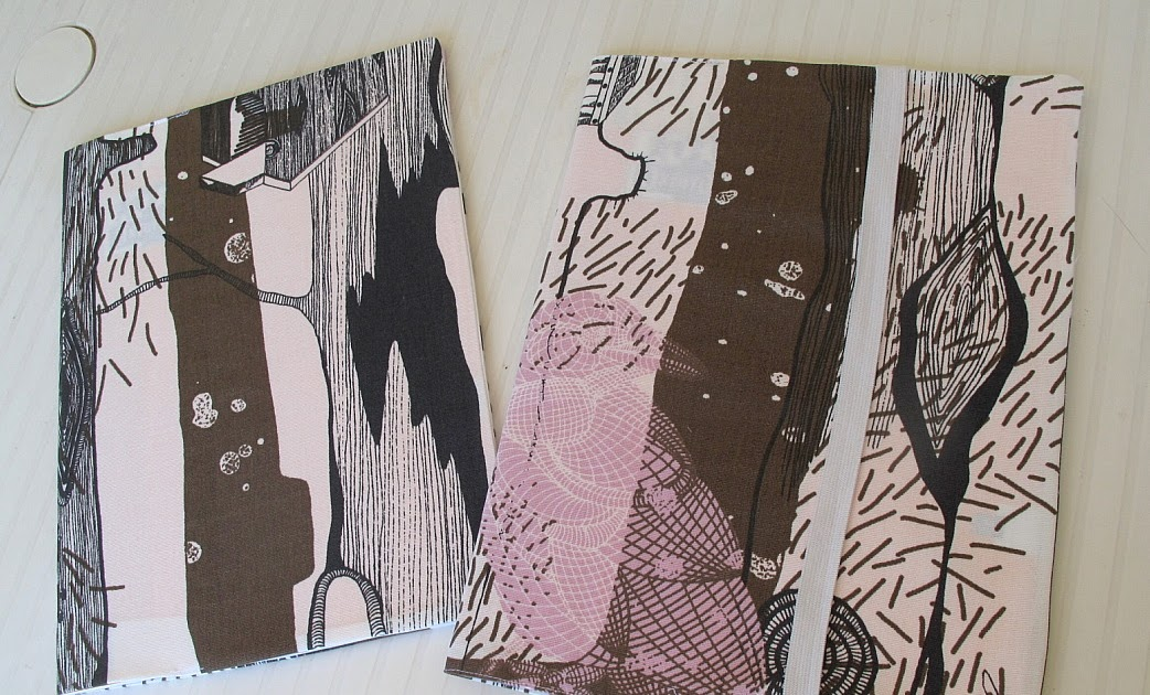 Couture la maison sewing at home prot ge cahier en tissu - Protege cahier avec rabat ...