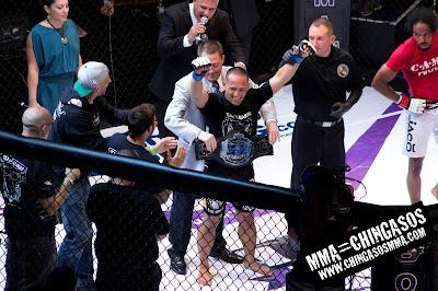 U of MMA Title Photo Fight Night 3