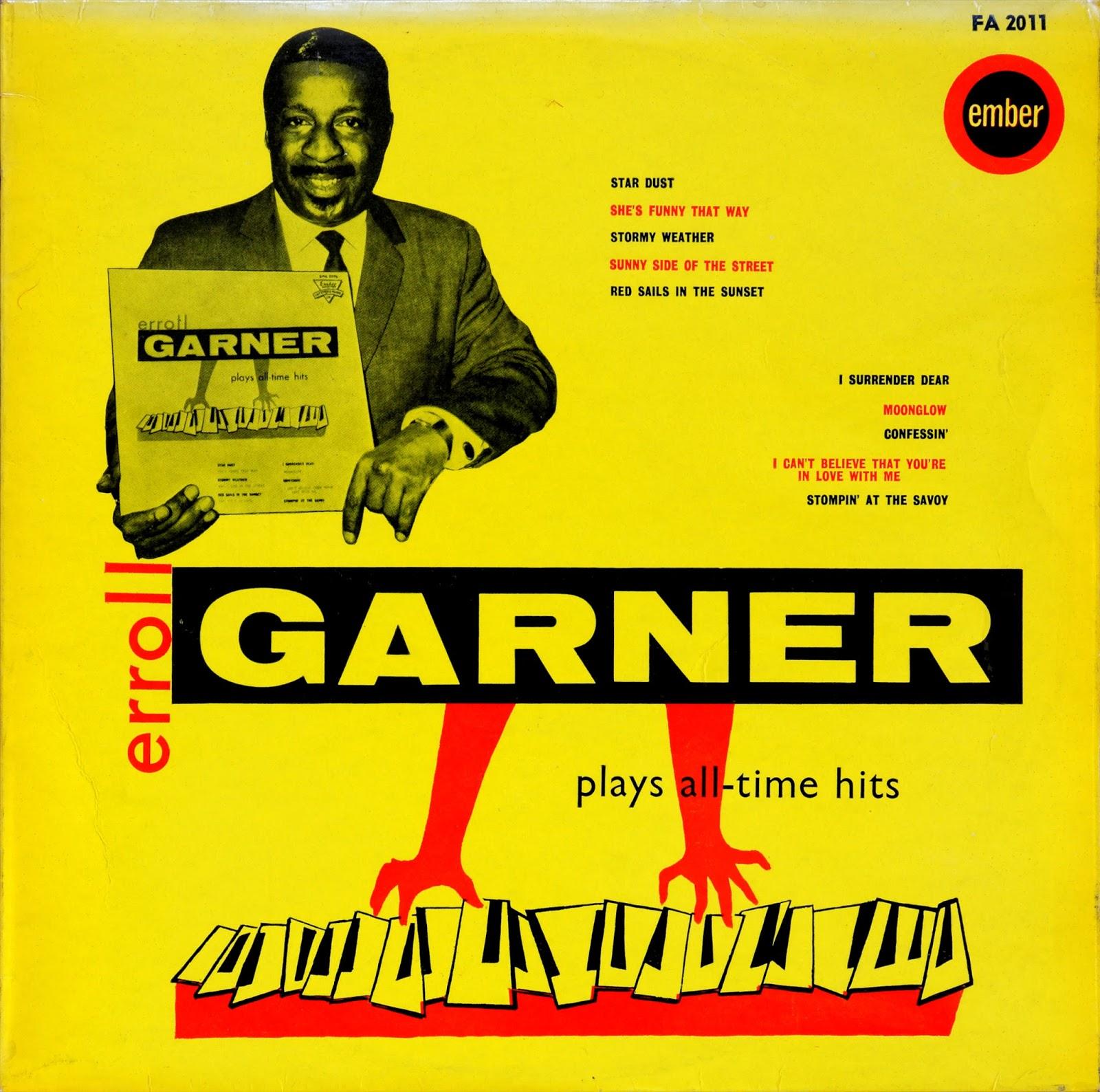 Erroll Garner* Errol Garner - The Errol Garner Collection - 20 Golden Greats