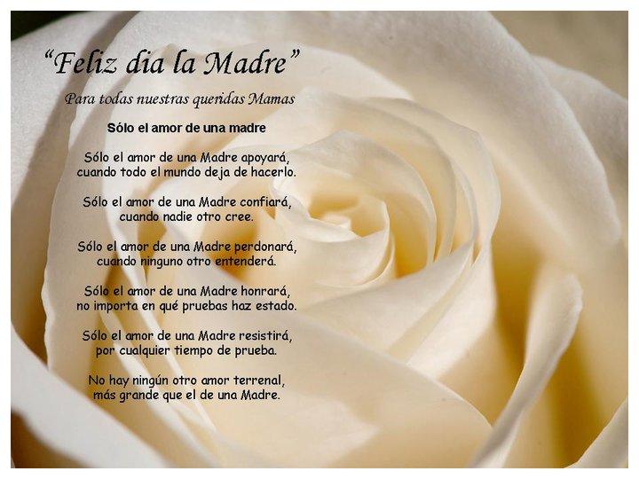 Poemas Para El Día De La Madre Imágenes Lets Celebrate