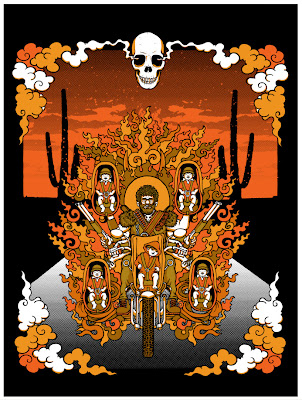 """Raising Arizona"" Screen Print by Matt Leunig"