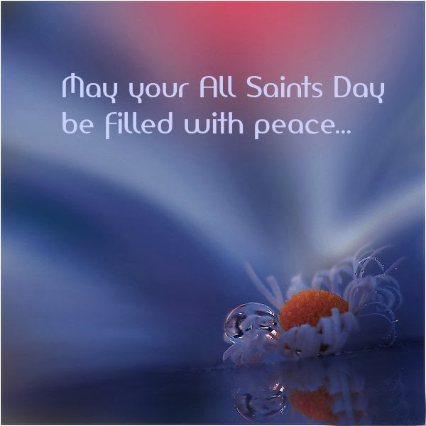 All Saints Day Free Cards