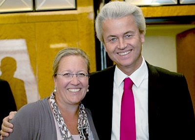 Berlin, Sept 3 2011: ESW and Geert Wilders #2