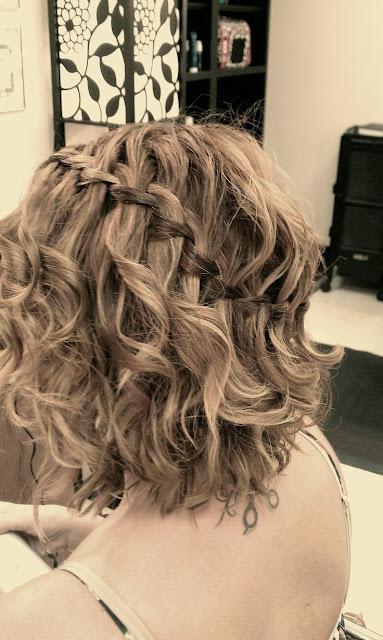 Cabelos - Penteados tranças para cabelo curto