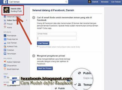 membuat akun facebook