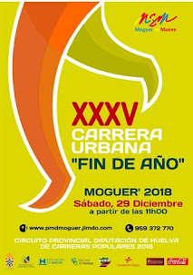 "XXXV CARRERA URBANA ""FIN DE AÑO"" MOGUER"