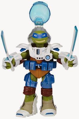 JUGUETES - LAS TORTUGAS NINJA : Teenage Mutant Ninja Turtles  TMNT Dimension X - Leonardo | Figura - Muñeco  Toys | Producto Oficial Serie Televisión | 91230 | A partir de 4 años