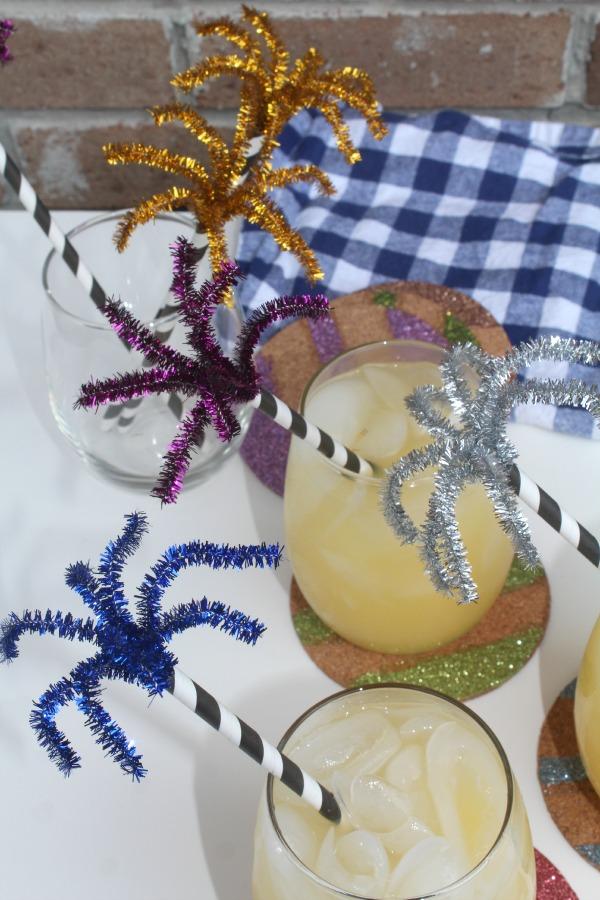Craft Firework Drink Stirrers