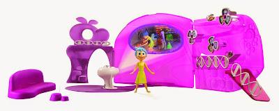 JUGUETES - DISNEY Inside Out | Del reves - Playset cuartel general  Producto Oficial Película Pixar 2015 | Bizak 30691117 | A partir de 4 años