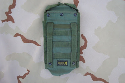 London Bridge Trading 2282E 200rd (M60/SAW) feed ammo pouch. B