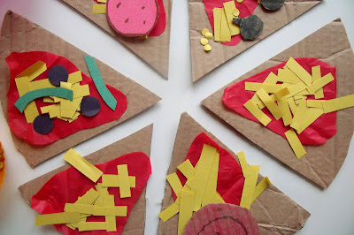 PRESCHOOL PIZZA CRAFT
