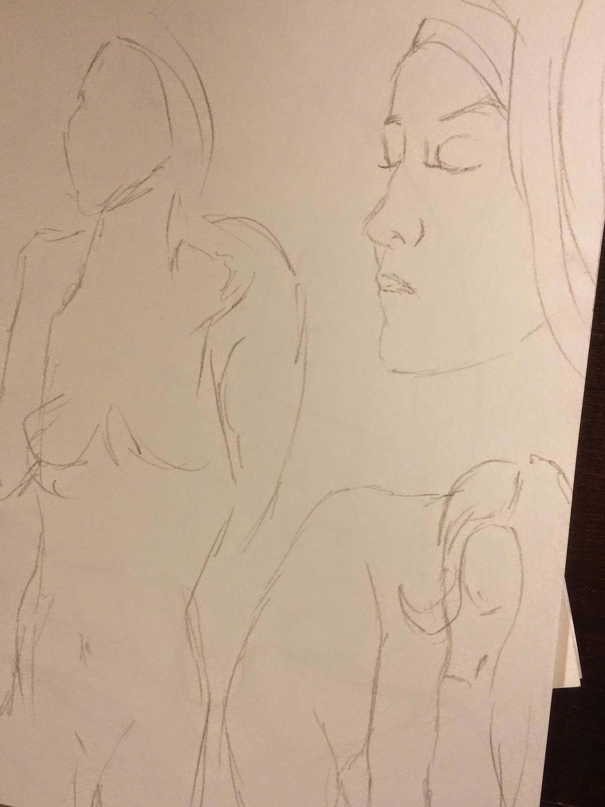 Figure drawing 30 second sketches | Business, Life & Design