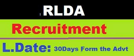 RLDA Recruitment 2014 - Latest Govt Recruitment Job 2014