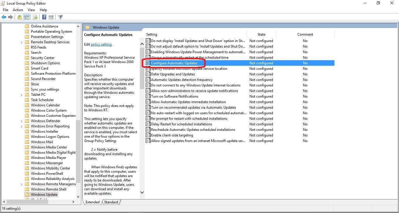 no gpedit.msc windows 10