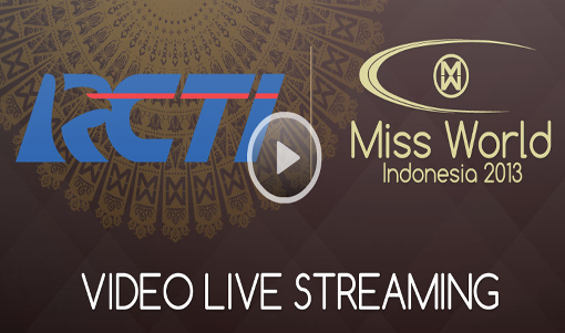 Miss World 2013 live streaming at http://www.missworld.com/LiveStream/
