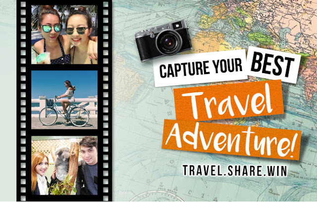 Travel Share Win USD 100 shopping voucher