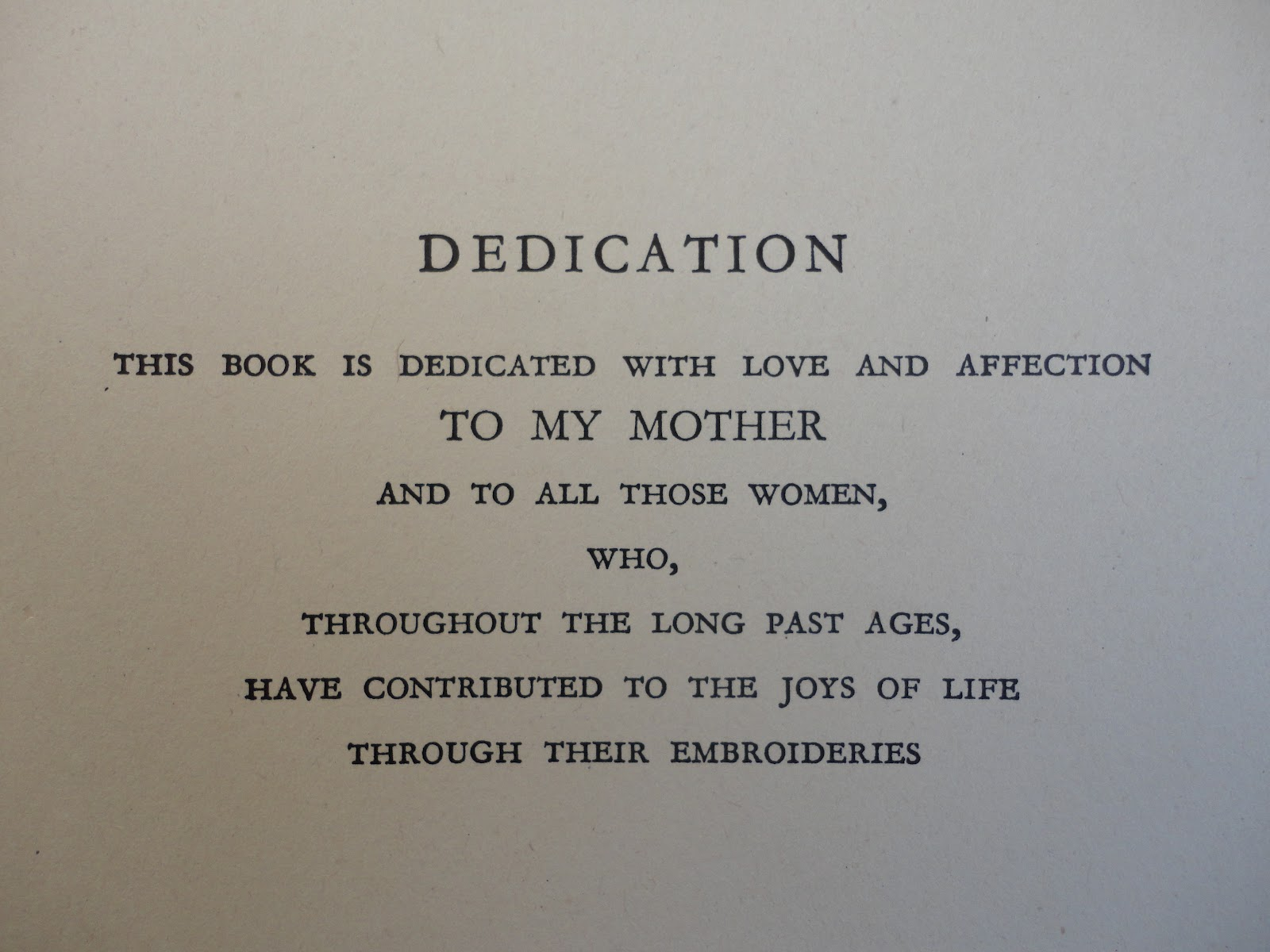 Dedication wording thesis