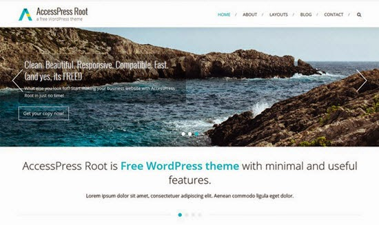 AccessPress Root WordPress Theme