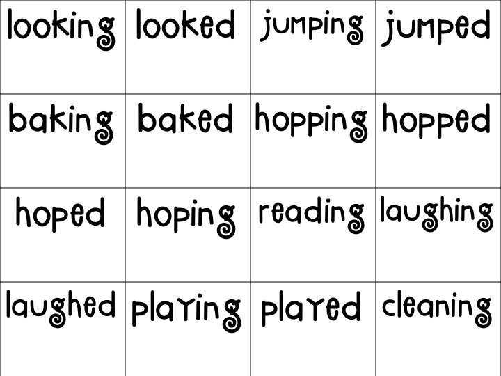 First Grade Fanatic Long Vowel Kids and Base word Ending – Base Word Worksheets