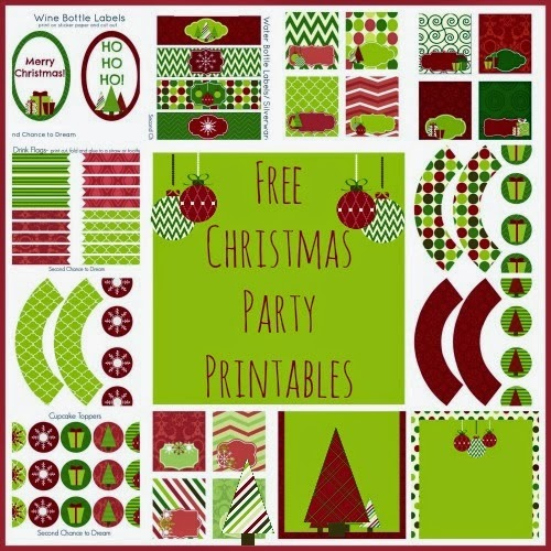Christmas party printables free