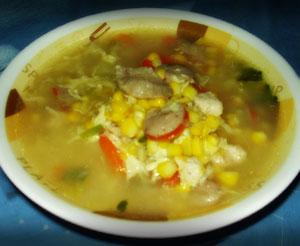 Kreasi Resep Membuat Sup Jagung Wortel dan Daging Ayam