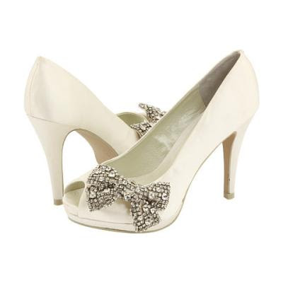 Bridal Shoes Pearls on Alternative Wedding  Ivory Wedding Shoes