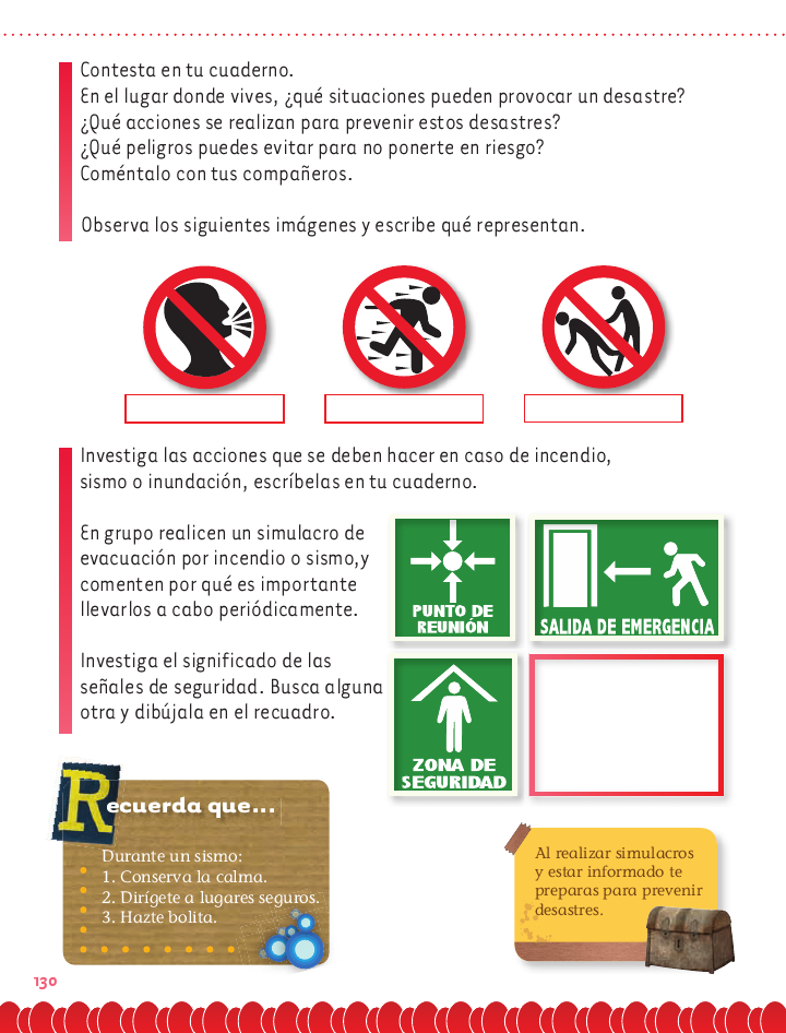 Prevención de desastres exploración de la naturaleza 2do bloque 5 ...