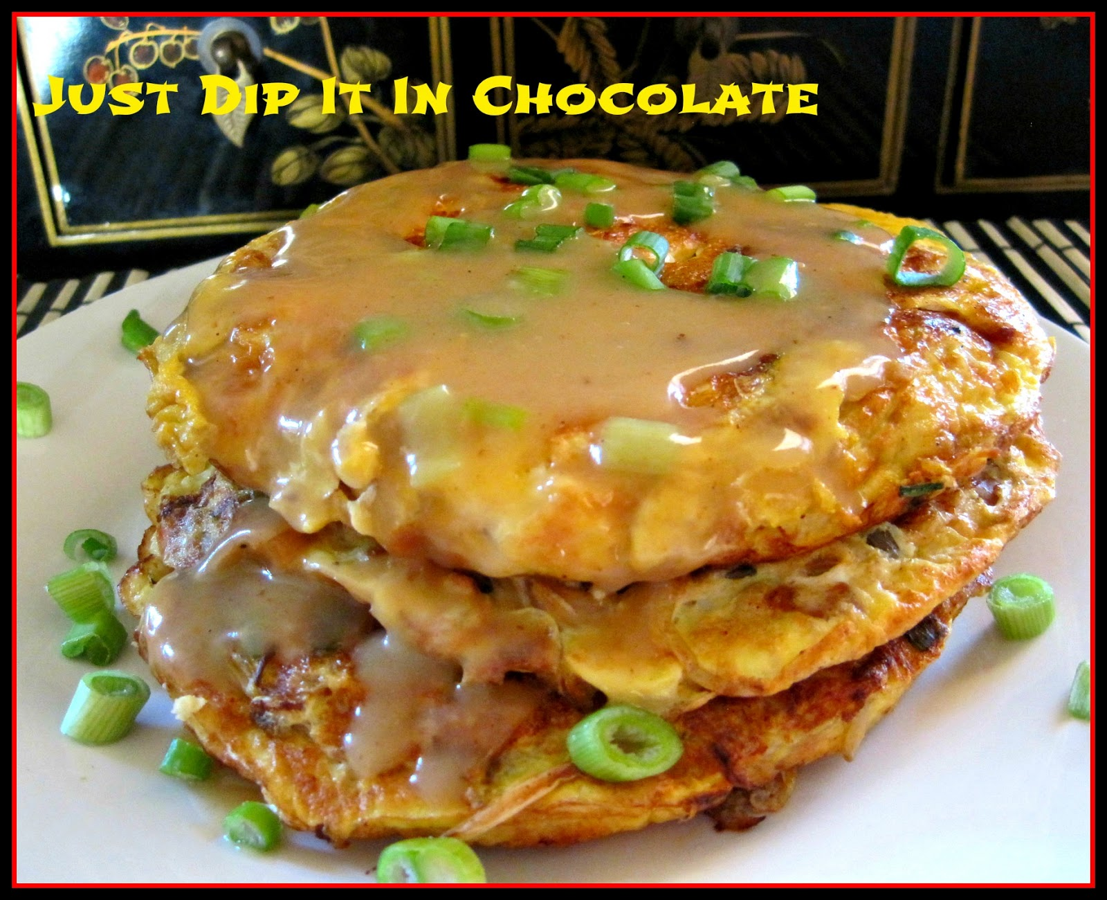 Just Dip It In Chocolate: Shrimp Egg Foo Young Recipe