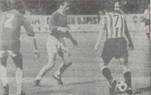 Ujpest Dozsa 2 – Athletic 0